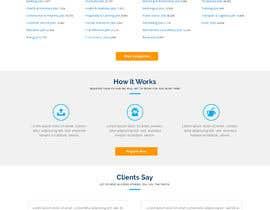 #15 untuk Homepage Website Mock oleh creativecas