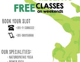 #25 for Design a Flyer _ for yoga institute by alawiyahere