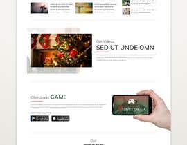 #15 for Website Mockup for Christmas Livestream site af yasirmehmood490