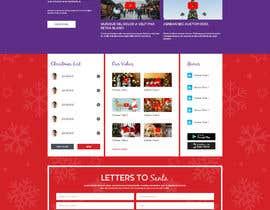 #29 for Website Mockup for Christmas Livestream site af AyazAhemadKadri