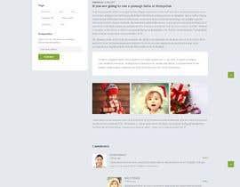 #2 for Website Mockup for Christmas Livestream site af Brandsoftsols1