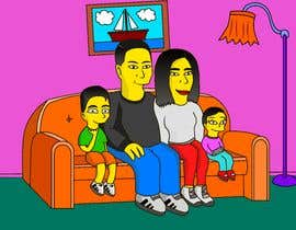 #14 for Simpsons Family Drawing - Family of 4 af Alexander7117