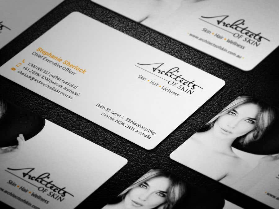 Entry #59 by arnee90 for Architects of Skin Business Cards | Freelancer