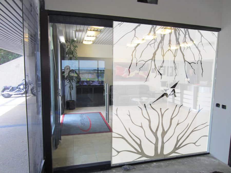 Entry 3 By Gauravvipul1 For Branded Frosted Glass Vinyl Design For
