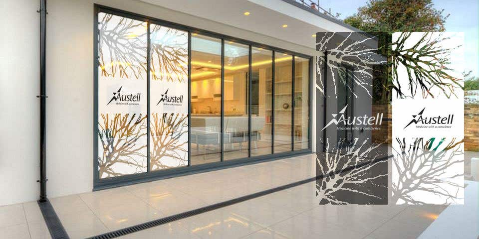 Entry 15 By Gauravvipul1 For Branded Frosted Glass Vinyl Design For
