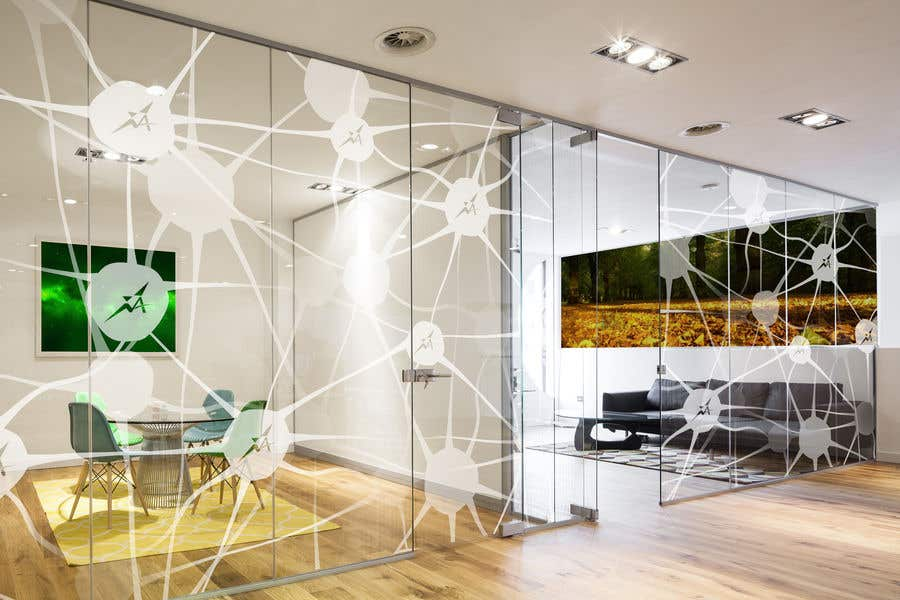 Entry 51 By Jimpen For Branded Frosted Glass Vinyl Design For Glass