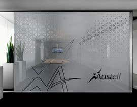 Nro 33 kilpailuun Branded frosted Glass vinyl design for glass doors/glass walls for business käyttäjältä DEZIGNWAY
