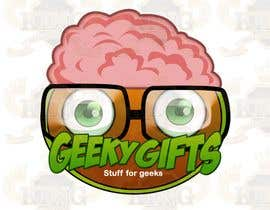 #230 för Logo Design for Geeky Gifts av pixelkingco