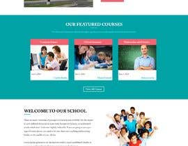 #3 for Design a Website Mock-up School Wbsite.. by webidea12