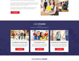 #7 for Design a Website Mock-up School Wbsite.. by yasirmehmood490
