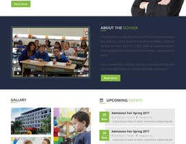 #12 for Design a Website Mock-up School Wbsite.. by satishandsurabhi