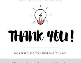 #13 для Thank you email banner від trippysunday