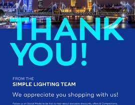 #106 для Thank you email banner від DEZIGNWAY