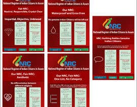 #67 for Design Posters for NRC Assam by rouse14ab