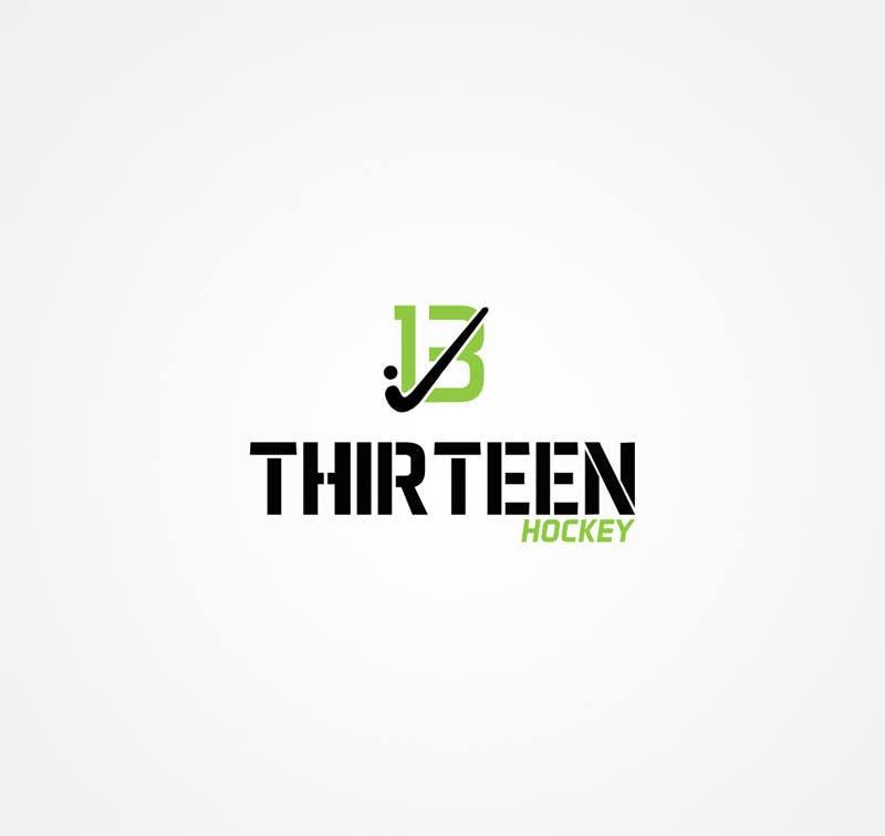 Kilpailutyö #                                        90                                      kilpailussa                                         Logo Design for Thirteen Hockey