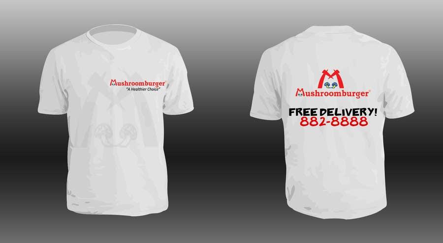 Penyertaan Peraduan #9 untuk T-shirt Design for Mushroomburger Phils., Inc.