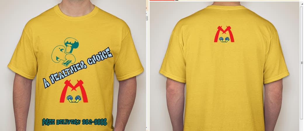 Penyertaan Peraduan #10 untuk T-shirt Design for Mushroomburger Phils., Inc.