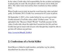 #1 cho Compile a list of 5 video links disturbing confession tapes bởi AkS0409
