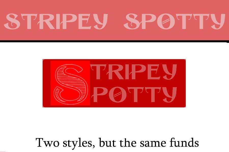 Inscrição nº                                         49                                      do Concurso para                                         Logo Design for StripeySpotty
