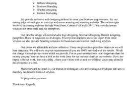 nº 2 pour Need 2 Email Template Written par saritha1979