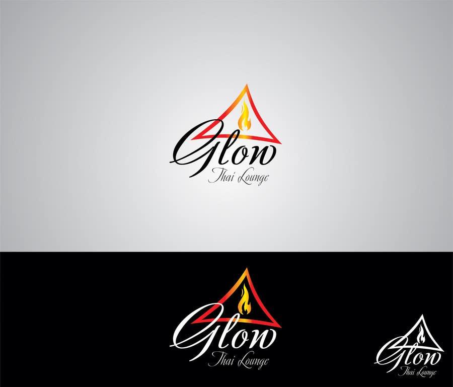 Kilpailutyö #207 kilpailussa Logo Design for Glow Thai Lounge