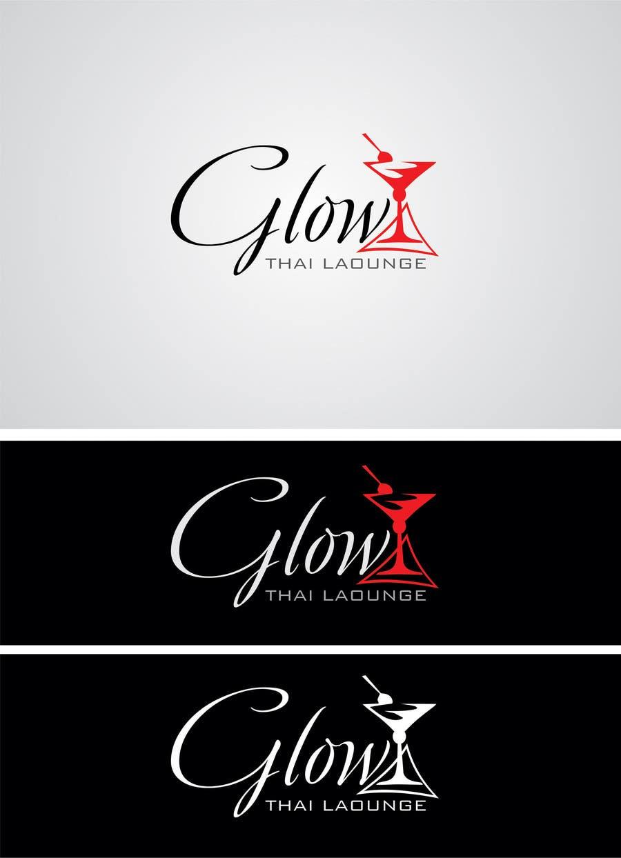 Kilpailutyö #211 kilpailussa Logo Design for Glow Thai Lounge