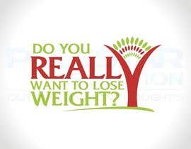 #212 pentru Logo Design for Do You Really Want To Lose Weight? de către Polestarsolution