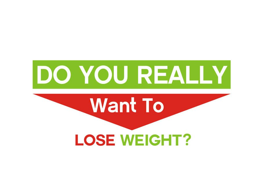 Konkurrenceindlæg #102 for Logo Design for Do You Really Want To Lose Weight?