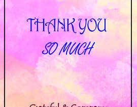 nº 45 pour Design for my gratitude cards par sabbirhossaino