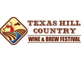 danumdata tarafından Logo Design for Texas Hill Country Wine & Brew Fest için no 48