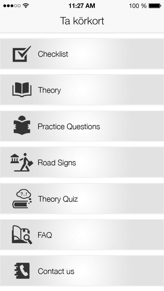 Penyertaan Peraduan #                                        30                                      untuk                                         Redesign main menu for our IOS app