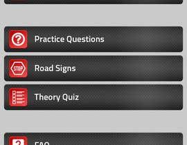 #34 untuk Redesign main menu for our IOS app oleh kubocentik