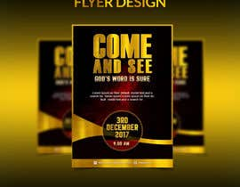 #22 for Design a best flyer by amirkust2005