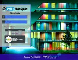 #6 cho Captive portal Wi-Fi desing bởi ruafridi