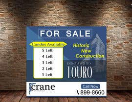 #172 for BIG CONSTRUCTION/REAL ESTATE SIGN by fareehakunwar