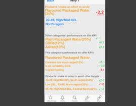 #2 para Colour palette, icons and text layout in 2 screens of an iOS app (paleta de colores, iconos y manejo de texto para 2 pantallas de una app en iOS) de nashrule15
