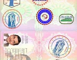 #16 for FUN and responsive passport and destination stamps design for SAAS av padigir