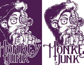 #77 para Logo Design for Monkey Junk por crayonscrayola