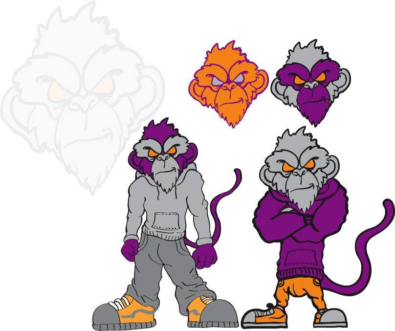Proposition n°                                        70                                      du concours                                         Logo Design for Monkey Junk