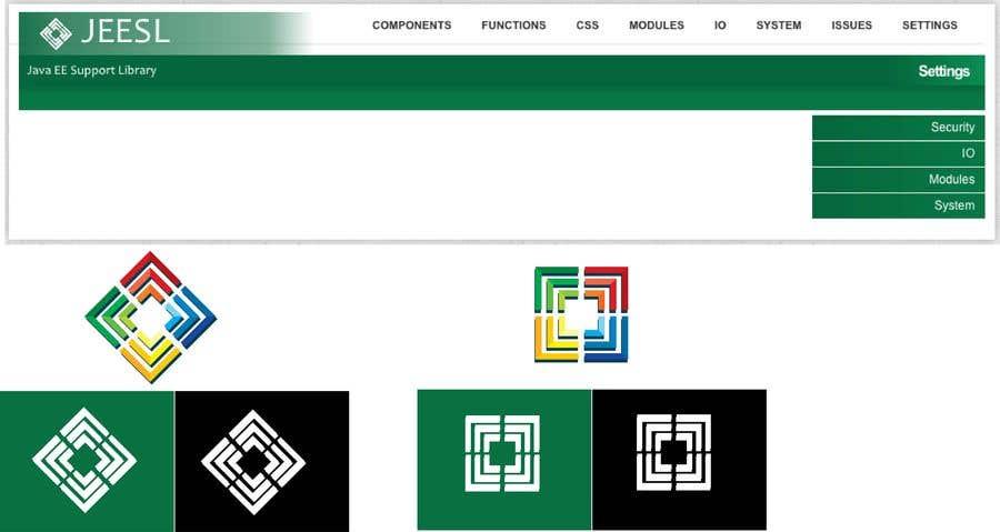 Entry #39 by EladioHidalgo for Logo Design for Java library Website