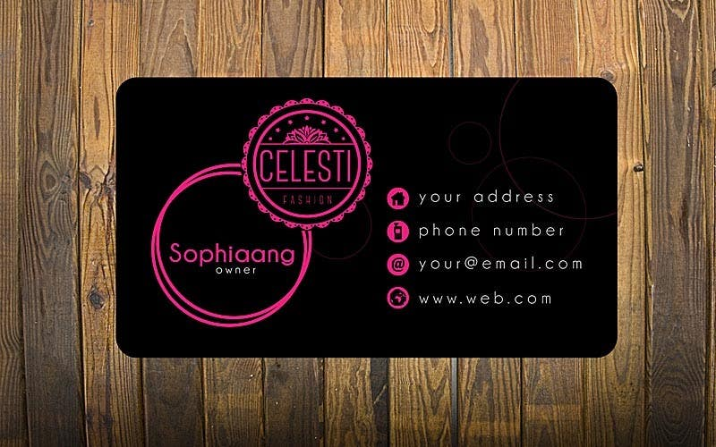 Entry 45 by cornelee for design a logo and business card for online contest entry 45 for design a logo and business card for online fashion retail colourmoves