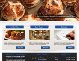 #9 untuk Theme, Web Site and Print Design for Cafe/Bakery oleh abatastudio