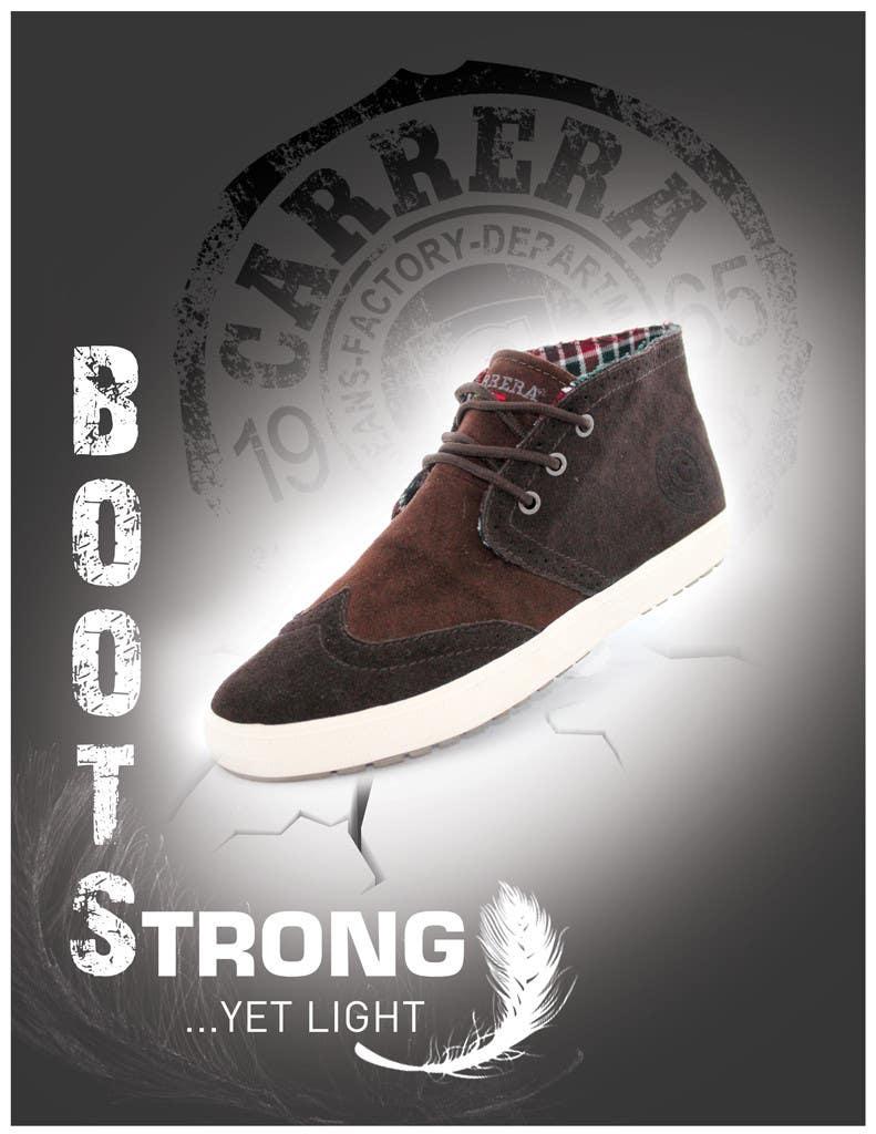 Penyertaan Peraduan #                                        29                                      untuk                                         Poster Graphic Design for Carrera Shoes