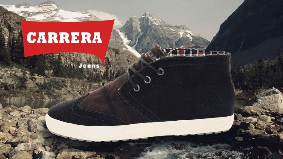 Penyertaan Peraduan #                                        8                                      untuk                                         Poster Graphic Design for Carrera Shoes