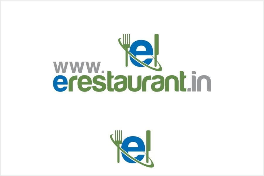 #102 for Logo Design for www.erestaurant.in by oxygenwebtech