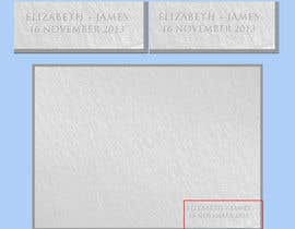 #6 para Subtle, simple, elegant - photo album cover design: template detailing two lines of text required por yeadul