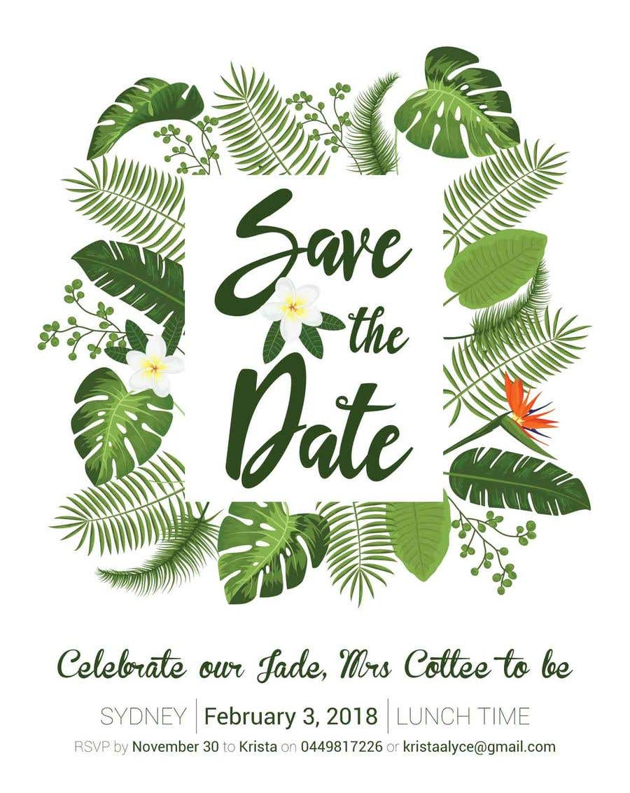 Christmas Save The Date Graphics.Entry 8 By Ilkerao For I Need Some Graphic Design Save
