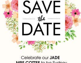 #1 for I need some Graphic Design  - Save the date invite by maidang34