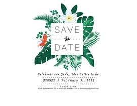 ErlanggaGautama tarafından I need some Graphic Design  - Save the date invite için no 13