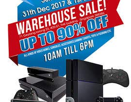maidang34 tarafından Design a Flyer for Video Games Warehouse Sales. -- 2 için no 68